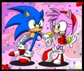 Sweet Sonamy - sonic-couples fan art