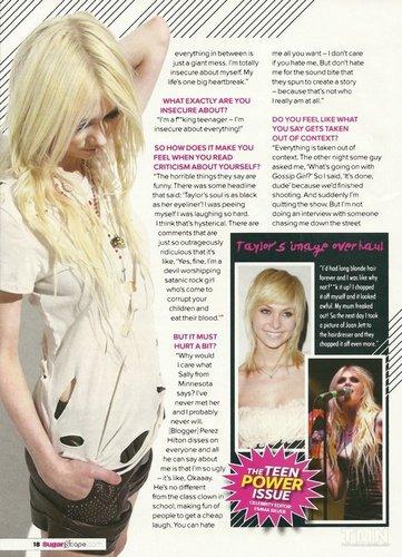 Taylor Momsen - Sugar Magazine Scans [HQ]