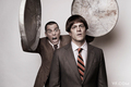 The 3-D Stooges:  Steve-O & Knoxville - jackass photo