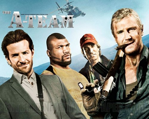 Action Films fondo de pantalla containing a green boina entitled The A-Team (2010)