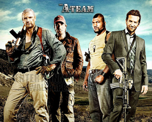 Action Films wallpaper containing a green boina and a atirador entitled The A-Team (2010)