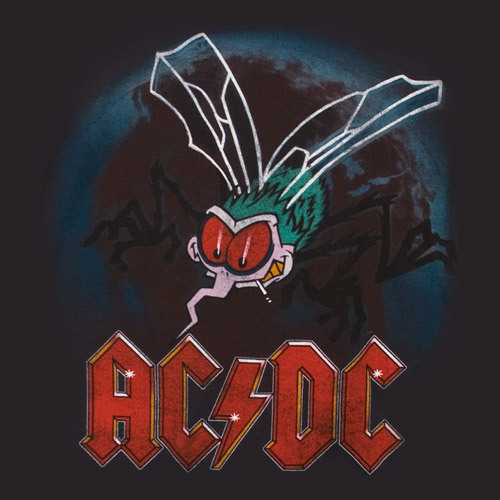 The AC/DC Fly - ac-dc Photo
