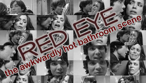 Red Eye wallpaper possibly with anime titled The Bathroom Scene Picspam