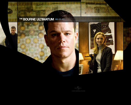 Action Films fondo de pantalla titled The Bourne Ultimatum