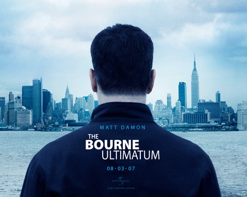 Action Films wallpaper containing a business district titled The Bourne Ultimatum
