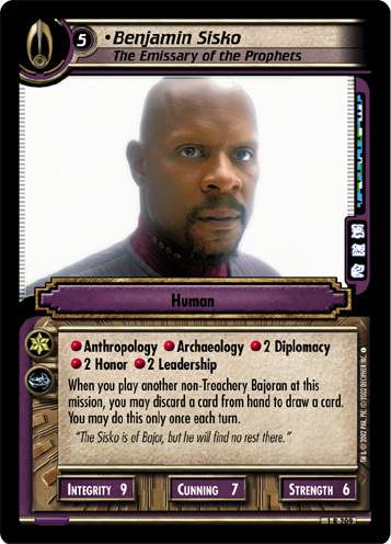 The Sisko - Card Game