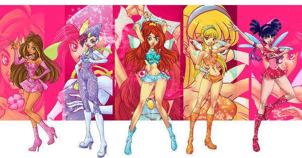 Шопинг Winx-Anime надписей и аватарок и игра педикюр!