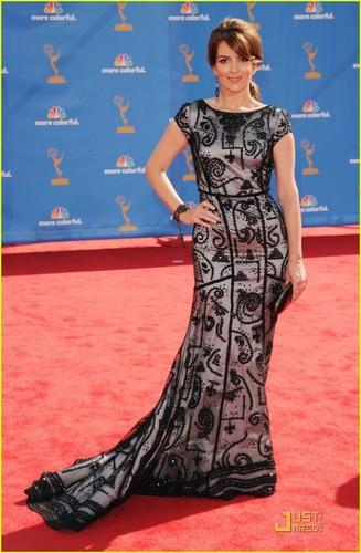 Tina Fey - Emmys 2010 Red Carpet