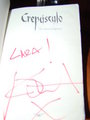Twilight books signed by Kristen @Bariloche, Arg. - twilight-series photo