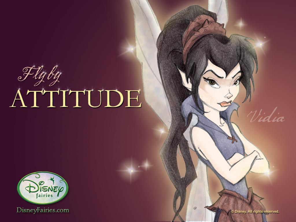 Disney Fairies and Pixie Hollow Vidia