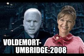 Voldemort and Umbridge (No offense to republicans, I just saw it and thought it was funny)