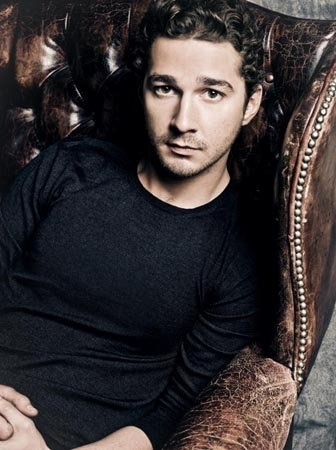Shia LaBeouf wallpaper possibly with a sign titled Wall Street 2 : Money Never Sleeps Photoshoot