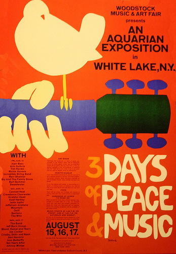 Woodstock Poster - woodstock Photo