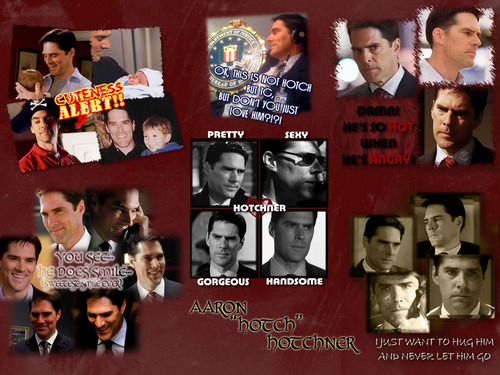 SSA Aaron Hotchner wallpaper possibly with anime entitled Yeah.. I love Hotch...
