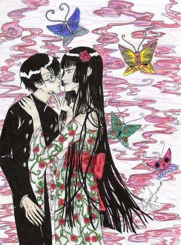 Yuuko&Watanuki