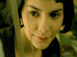 Amelie wallpaper with a portrait entitled amelie