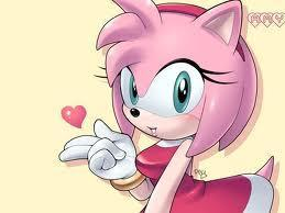 amy rose kiss heart