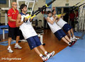 exercising preparation FIBA worlds  - ricky-rubio photo