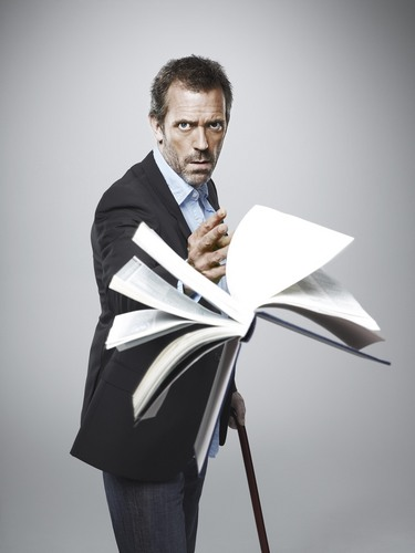 Dr. Gregory House wallpaper probably containing a business suit titled greg