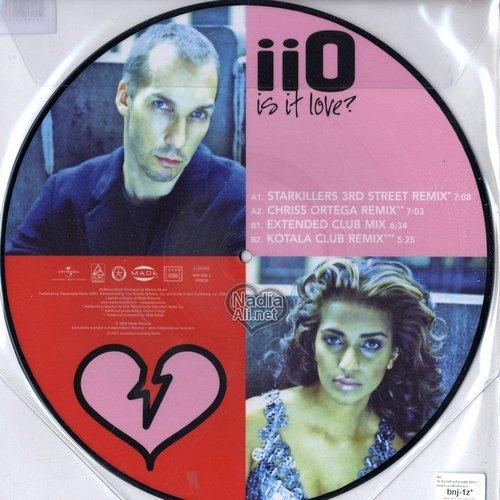 iiO Is It Love? Single Disc