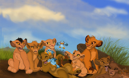 The Lion King wallpaper titled little lions