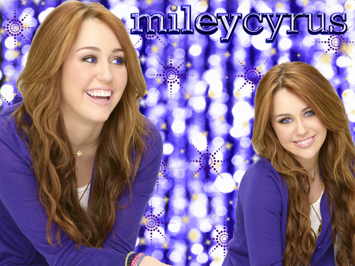 miley cyrus wallpaper oleh pearl as a part of 100 days of hannah