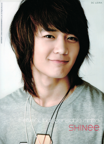 Choi Minho wallpaper possibly containing a portrait titled minho