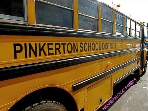 pinkerton skool bus