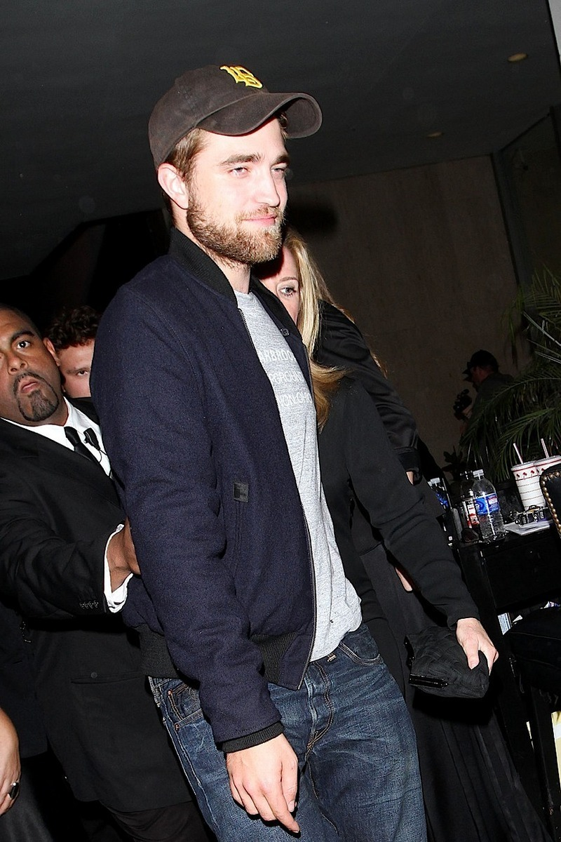 robert spotted out and about in West Hollywood last night (August 29)