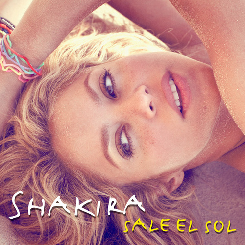 shakira new album cover