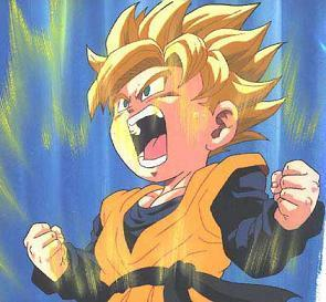 supersaiyan goten