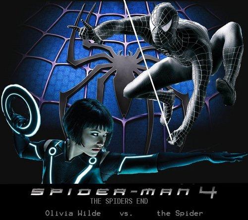 ;-P SPIDERMAN 4, Olivia vs. the spider