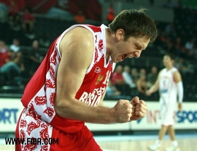 pallacanestro, basket wallpaper possibly containing a pallacanestro, basket player called 14. Evgeny VORONOV (Russia