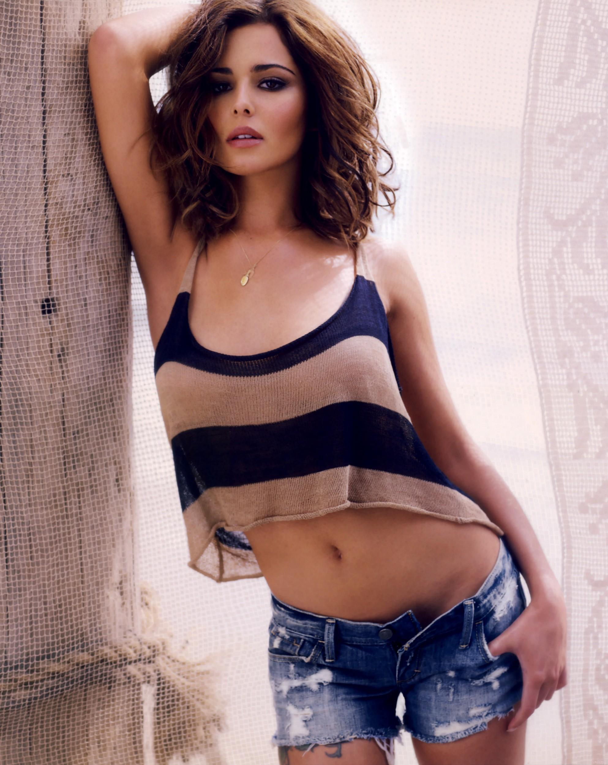 Cheryl Cole nackt, Oben ohne Bilder, Playboy Fotos, Sex