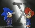 Agents Sonic and Sally - sonic-sally%3D-3 fan art