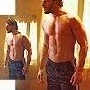 Joe Manganiello photo probably containing a six pack, a hunk, and skivvies entitled Alcide