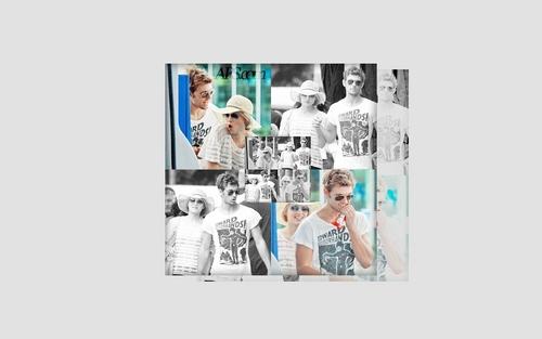 Alex Pettyfer & Dianna Agron 壁纸