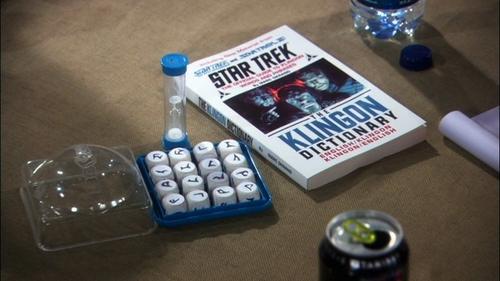 All we need to play Klingon Boggle! Yay!!!