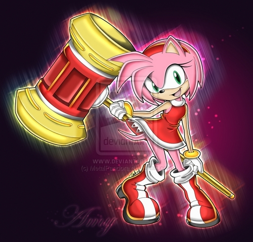 Amy Rose, newest edition to the Freedom Fighters!