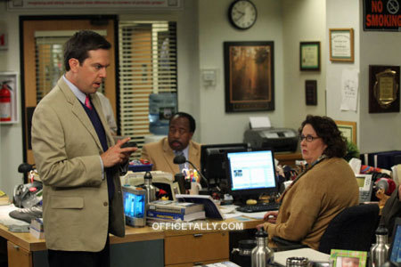Andy, Stanley, and Phyllis (Season 7 Promo Photo)