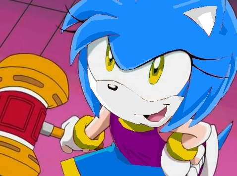 Sonic girl fan characters wallpaper containing anime called Ashley