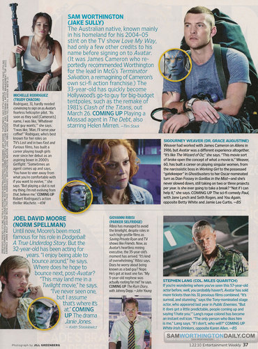 Avatar پیپر وال probably with a newspaper called Avatar in Entertainment Weekly