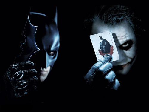 Batman and Joker - funkyrach01 Wallpaper