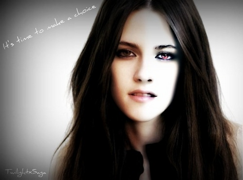 Twilight Series wallpaper possibly with a portrait titled Bella, human or vampire?