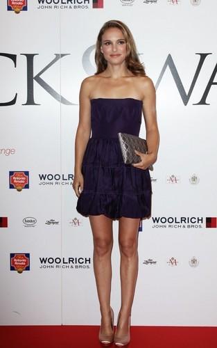 Black Swan arrival at Style Star Lounge for Venice Film Festival, Italy (September 1st 2010)