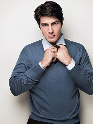 Brandon Routh wallpaper containing a business suit and a suit titled Brandon