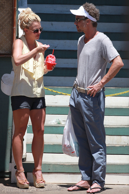 Britney out in Hawaii