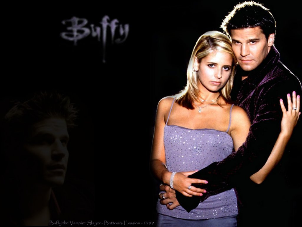 Buffy and Angel - funkyrach01 Wallpaper (15236479) - Fanpop