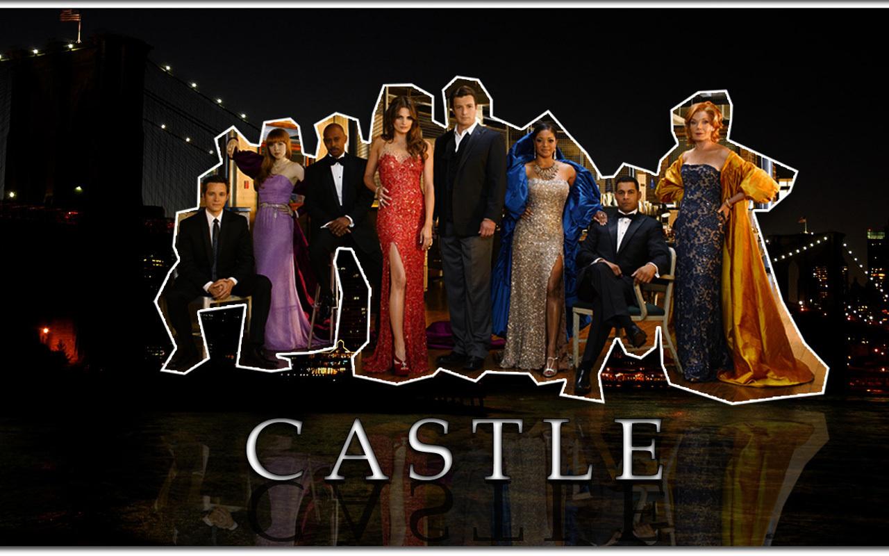 Castle Tv Show Wallpaper