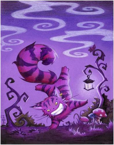 Cheshire Cat fanart